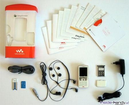 Sony-Ericsson W800i - Lieferumfang