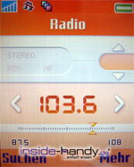 Sony-Ericsson W800i - Radio