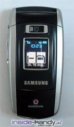 Sony-Ericsson z500 - Außendisplay