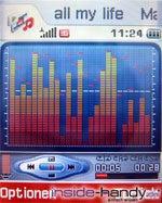 Sony-Ericsson z500 - Display Mediaplayer