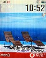 Sony-Ericsson z500 - Displayhintergrund