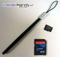 Sony-Ericsson z500 - Handyband und Memory Stick
