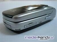 Sony-Ericsson z500 - schräg liegend