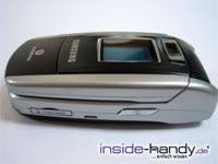 Sony-Ericsson z500 - seitlich liegend