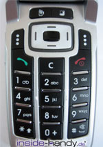 Sony-Ericsson z500 - Tastatur