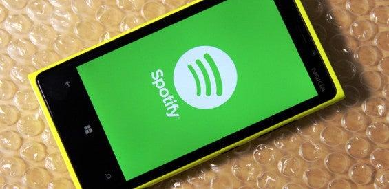 Spotify auf dem Lumia 920
