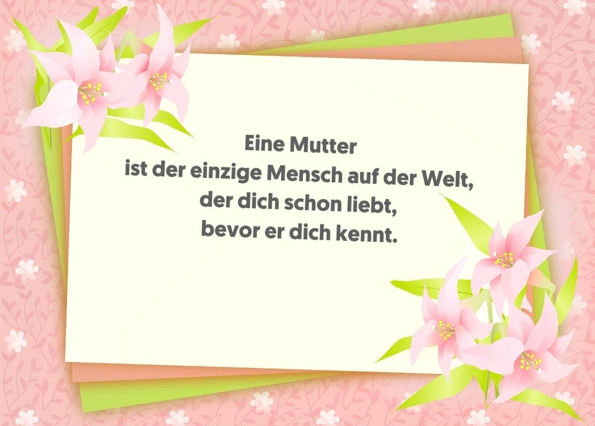 Whatsapp Grüße Zum Muttertag Die Schönsten Sprüche Zum