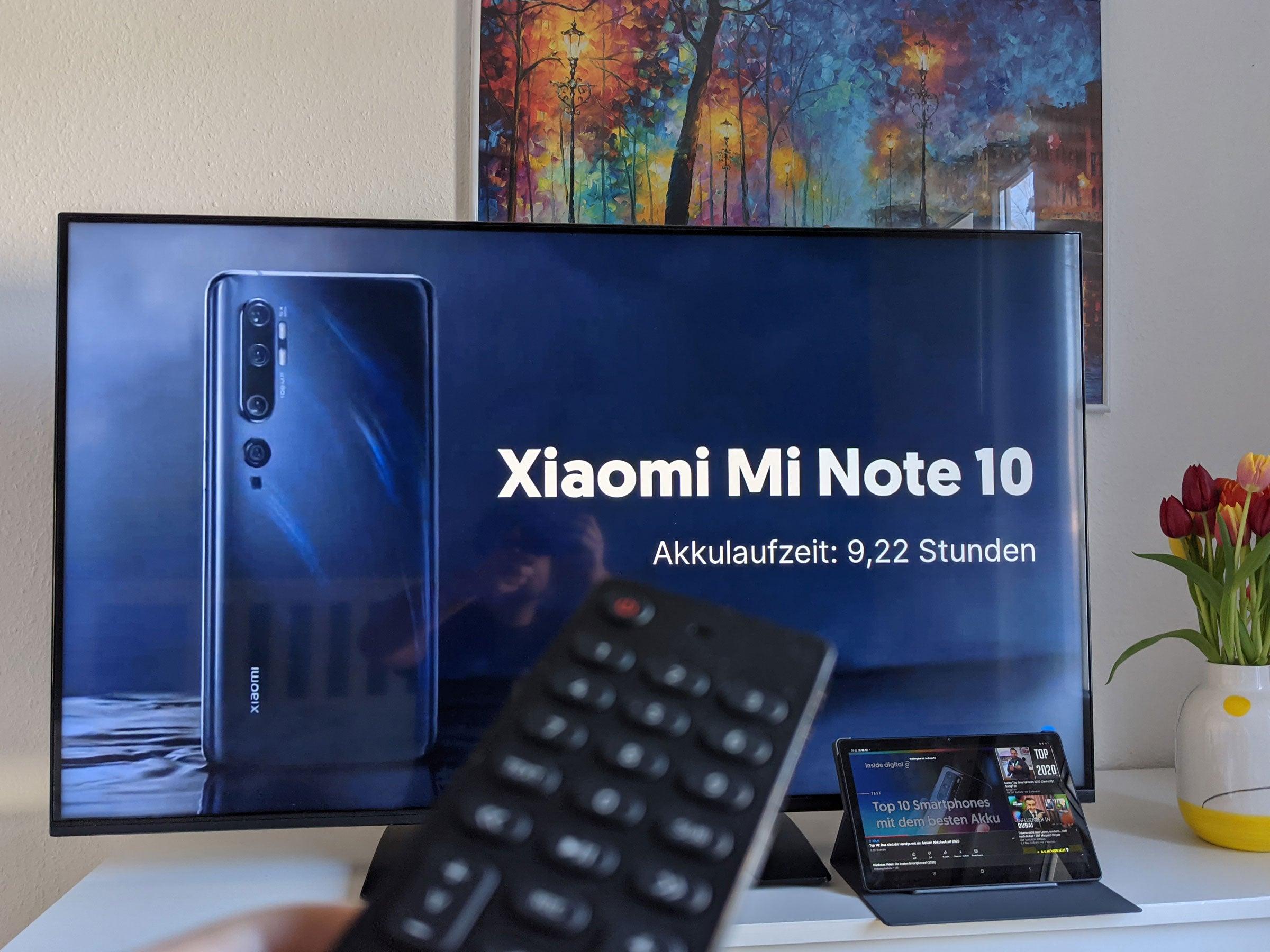 Streaming von einem Tablet auf den Nokia Smart TV