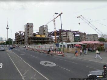 Zeitreise durch Berlin mit Google Street View