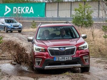 Subaru Forester im Gelände