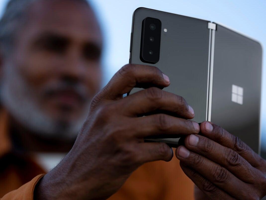 Die Kamera des Surface Duo