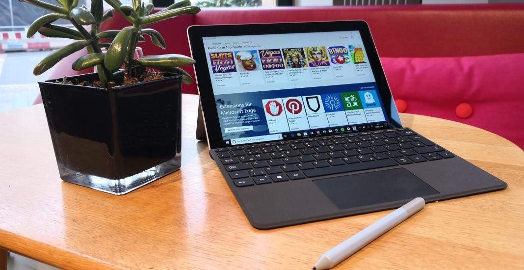 Das Surface Go von Microsoft