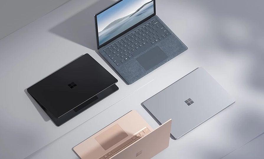 Surface Laptop 4 en todos los colores disponibles