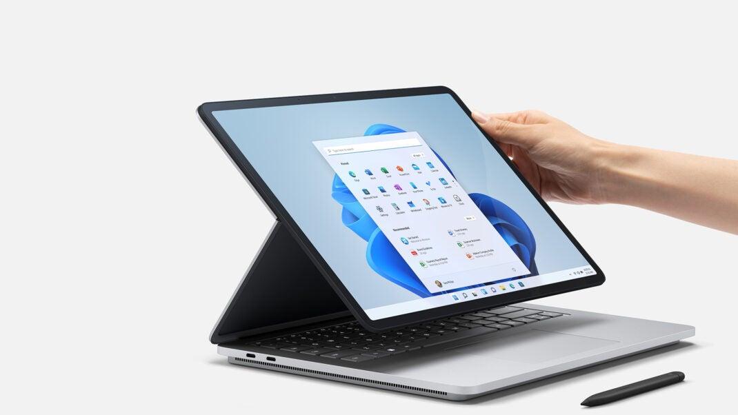 Ungewöhnlicher Formfaktor: Das Surface Laptop Studio