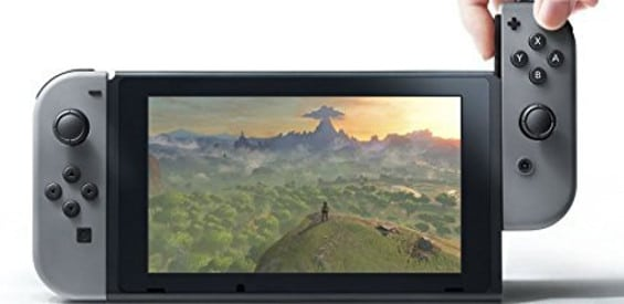 Switch Grau Titelbild