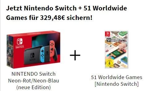 Cyber-Angebot bei MediaMarkt mit Nintendo Switch