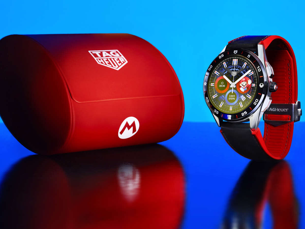 Tag Heuer Connected Super Mario Limited Edition.