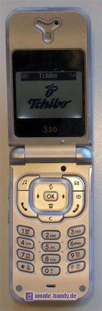 Tchibo (TCM) Klapp Handy - Innenansicht
