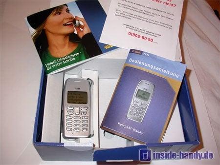 Tchibo (TCM) Kompakt Handy - Verpackungsinhalt