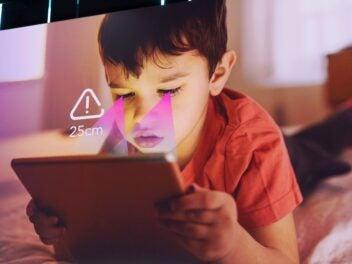 TCL Tablet schützt Kinderaugen