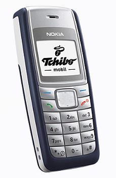 TCM (Tchibo) Kompakt-Handy 107 Datenblatt - Foto des TCM (Tchibo) Kompakt-Handy 107