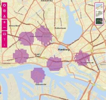 5G von der Telekom in Hamburg