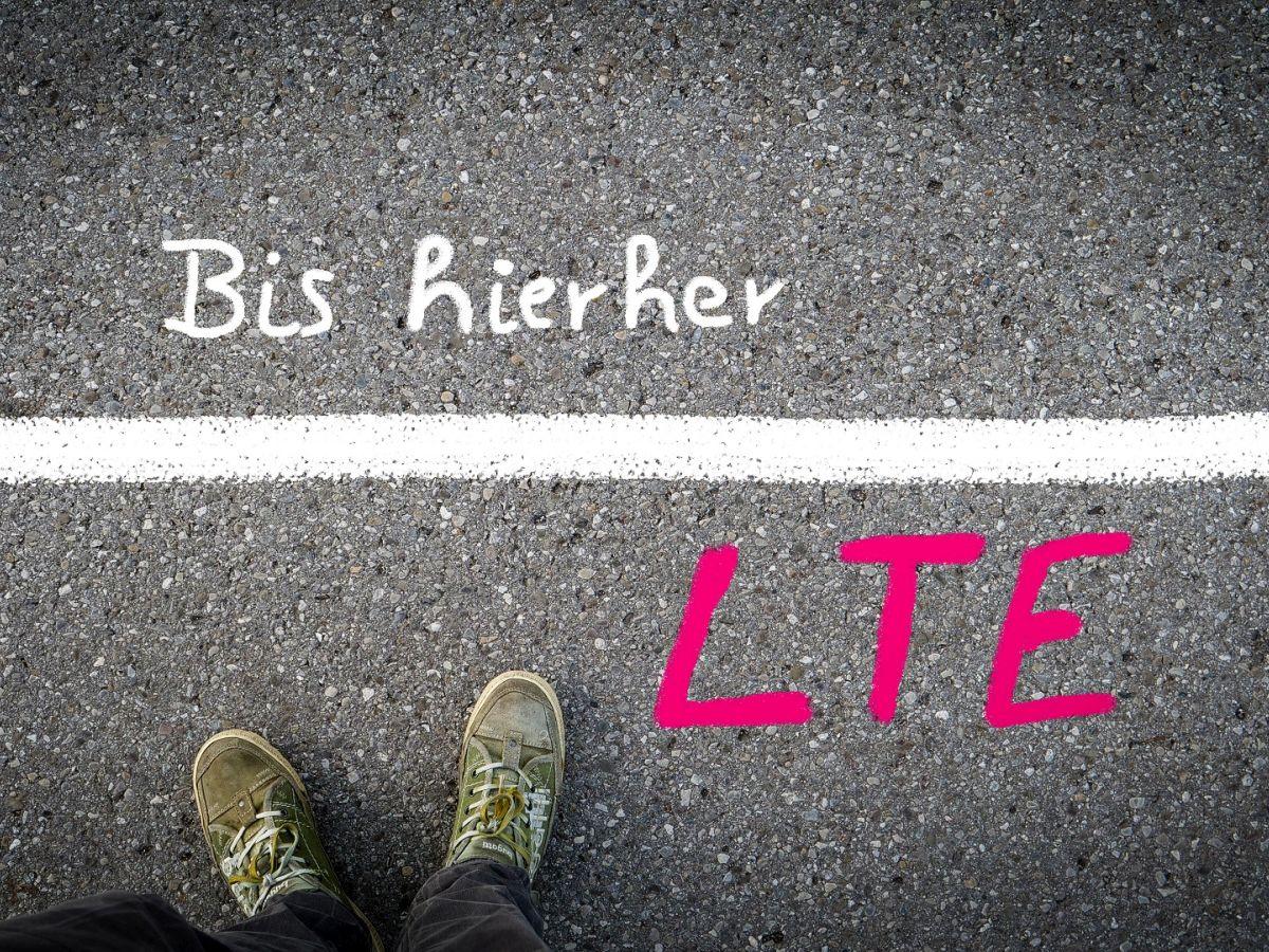 LTE bis an die Grenze