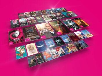 Inhalte aus der Megathek der MagentaTV App