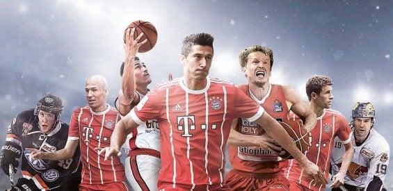 Telekom Sport Werbebanner mit Profisportlern