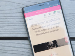 Telekom StreamOn Social und Chat