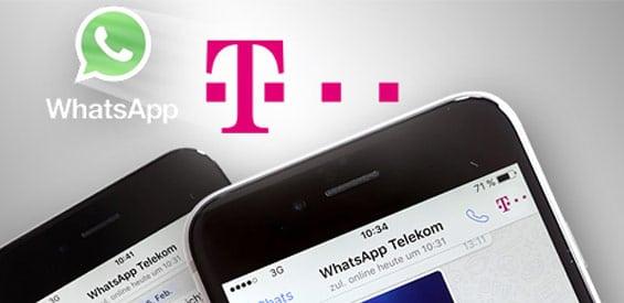 WhatsApp-Infoservice der Deutschen Telekom