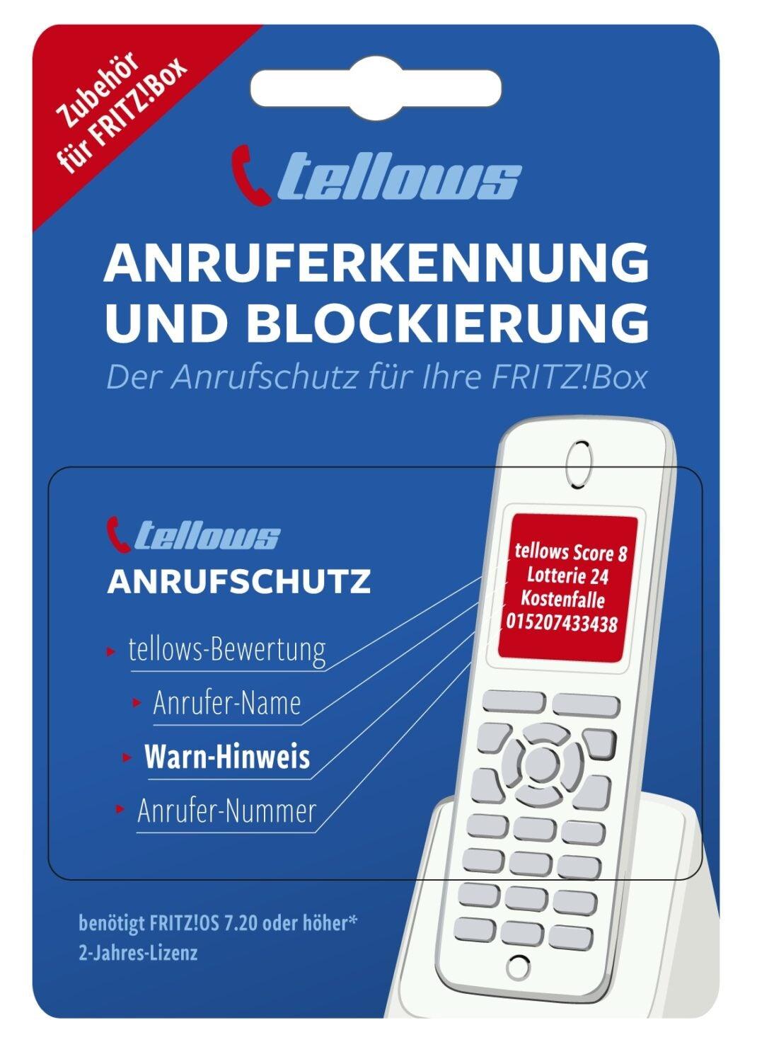 tellows Anruferschutz für FritzBox