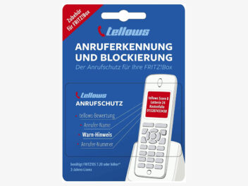 tellows Anrufschutz für FritzBox Abo-Karte