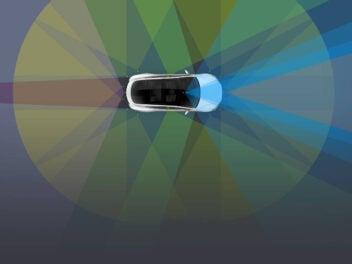 Tesla Autopilot Symbolbild