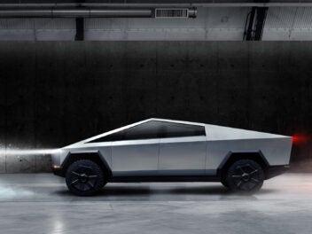 E-Auto von Tesla: der Cybertruck