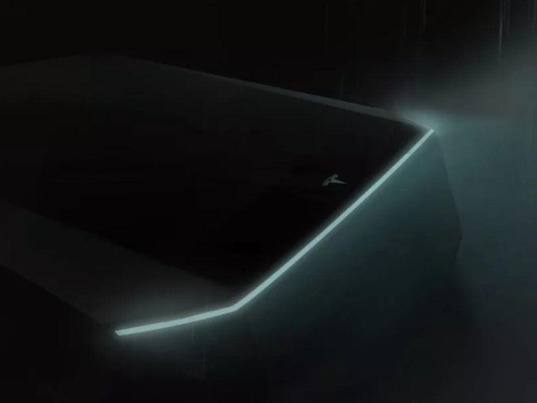 Tesla Cybertruck Konzept