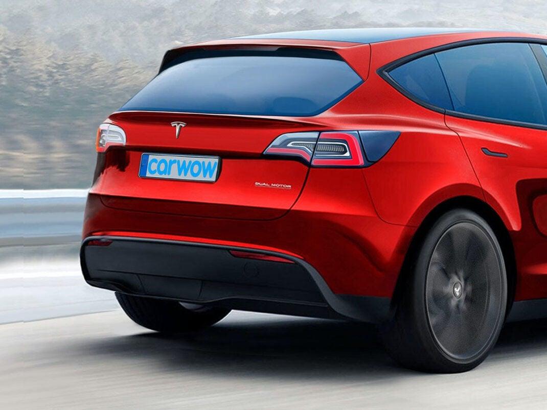 Kompaktmodell Tesla Hatchback
