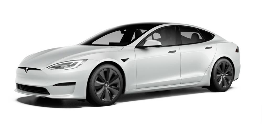 Tesla Model S Plaid Seitenansicht