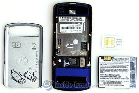 Test des Motorola MotoRIZR Z3-4