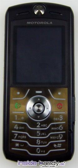 Test des Motorola SLVR L7-8