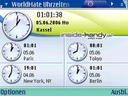 Test des Nokia E61-10