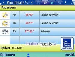 Test des Nokia E61-11