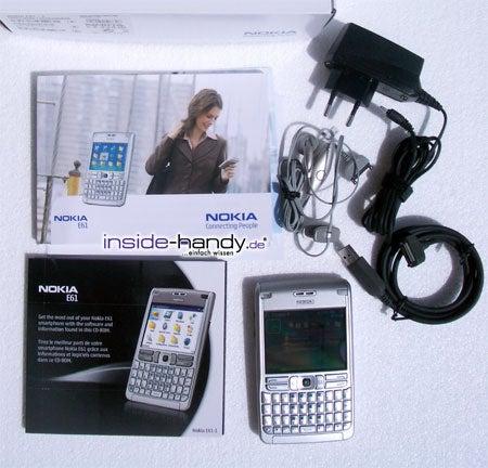 Test des Nokia E61-3