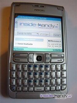 Test des Nokia E61-7