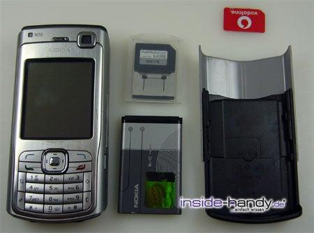 Test des Nokia N70-3
