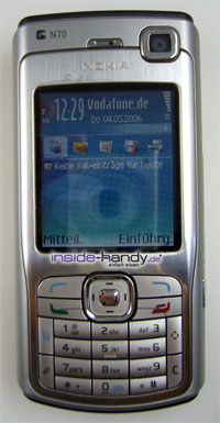 Test des Nokia N70-8
