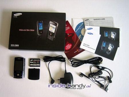 Test des Samsung SGH-D800-1