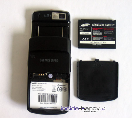 Test des Samsung SGH-D800-2