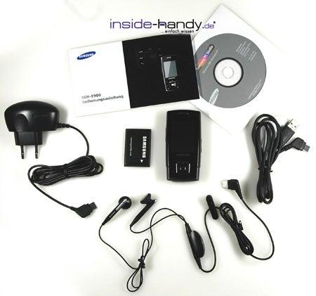 Test des Samsung SGH-E900-2
