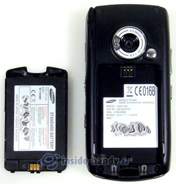 Test des Samsung SGH-i750-3